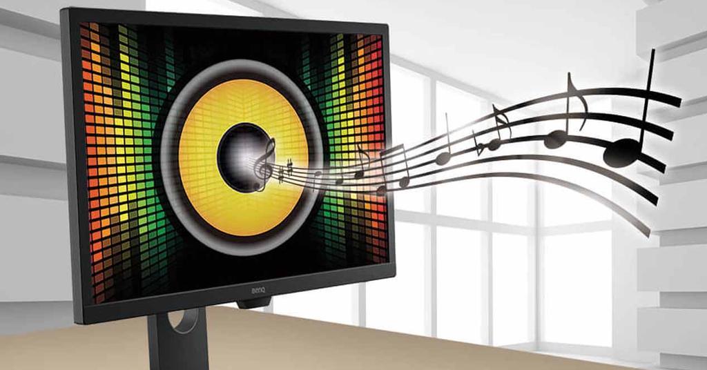 Altavoces integrados monitor