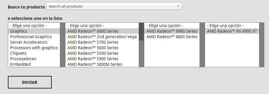 Drivers AMD