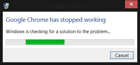 Error Chrome