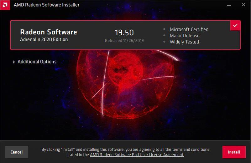 Instalar Radeon Software