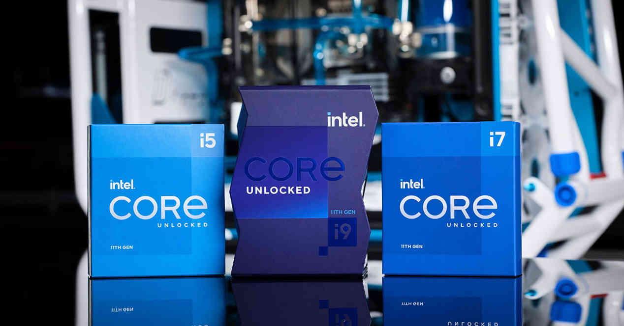 Intel Core Gen 11 cajas