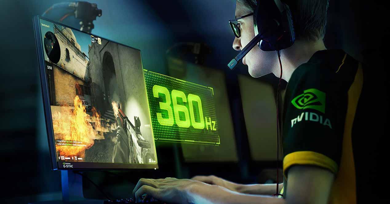 Monitor 360 Hz