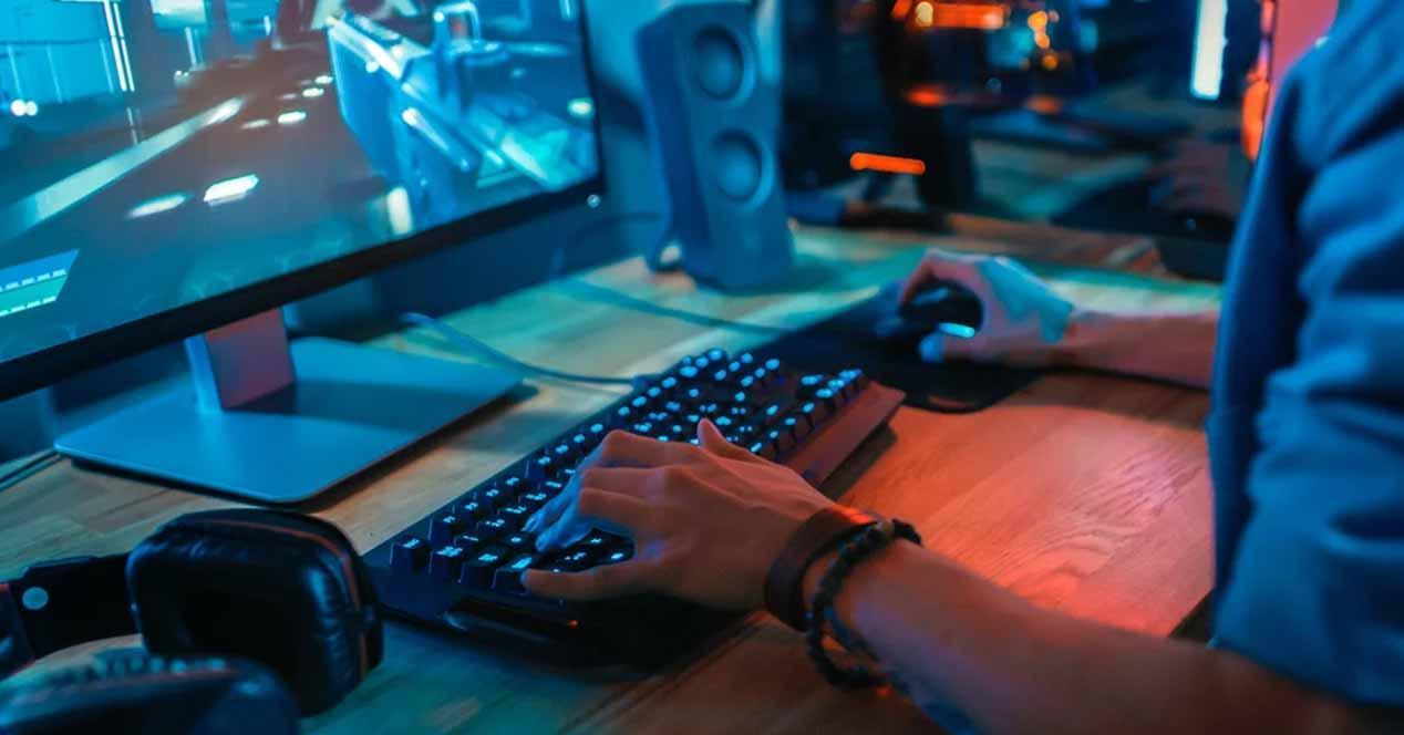 PS4 ratón y teclado