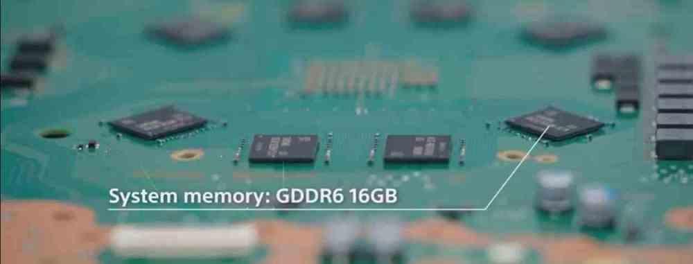 PS5 GDDR6 Placa