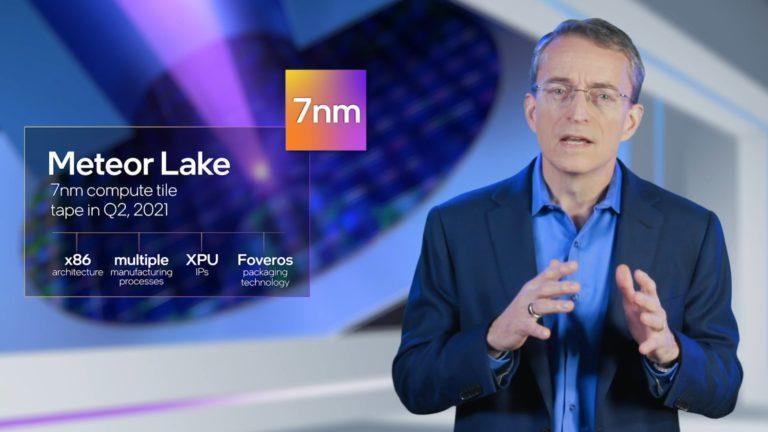 Pat Gelsinger 7 nm Intel