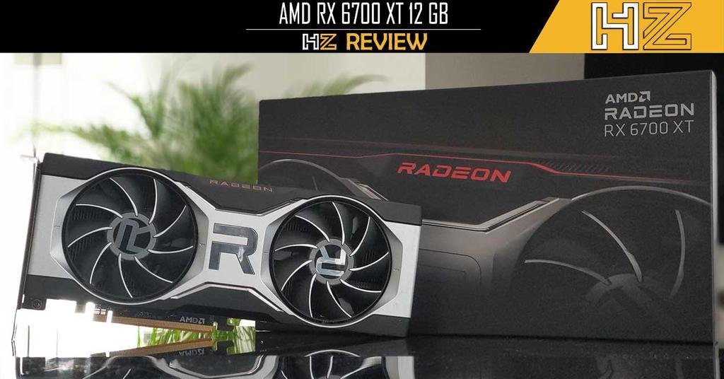Portada AMD RX 6700 XT 12 GB