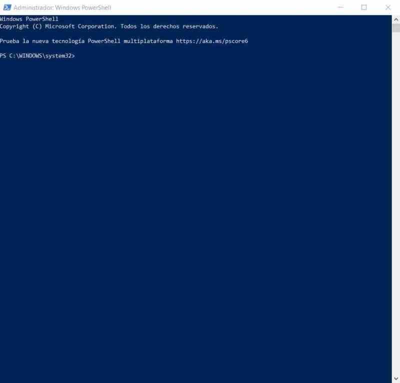 PowerShell Windows