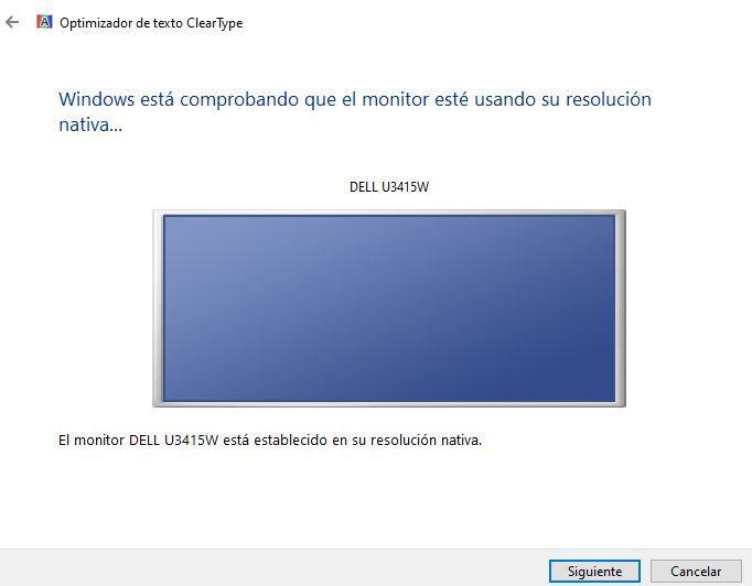 Resolución ClearType