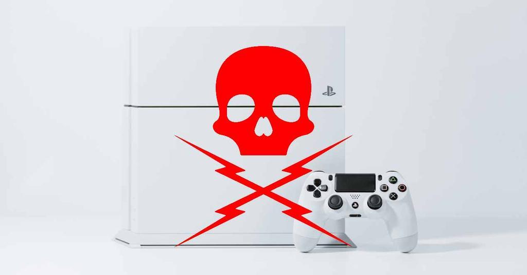 Sony PS4 Blanca