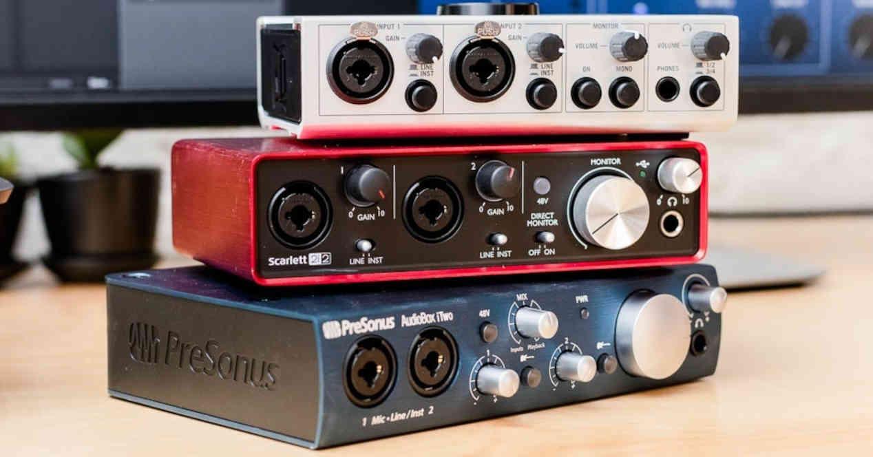 Interfaces de Audio USB MIDI