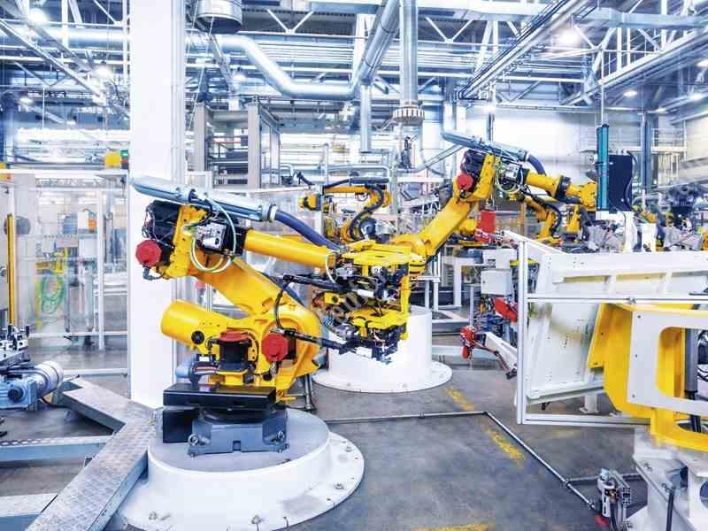 Robot Industrial microcontroladores