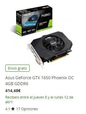 GTX 1650 PCComp