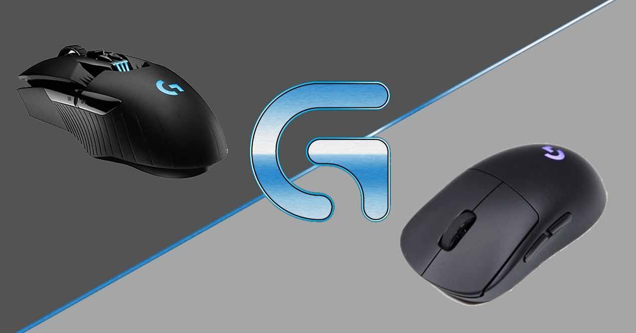 Logitech G903 vs G Pro