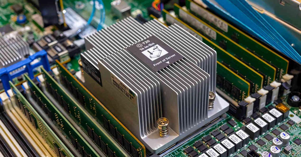 RAM CPU Servidor