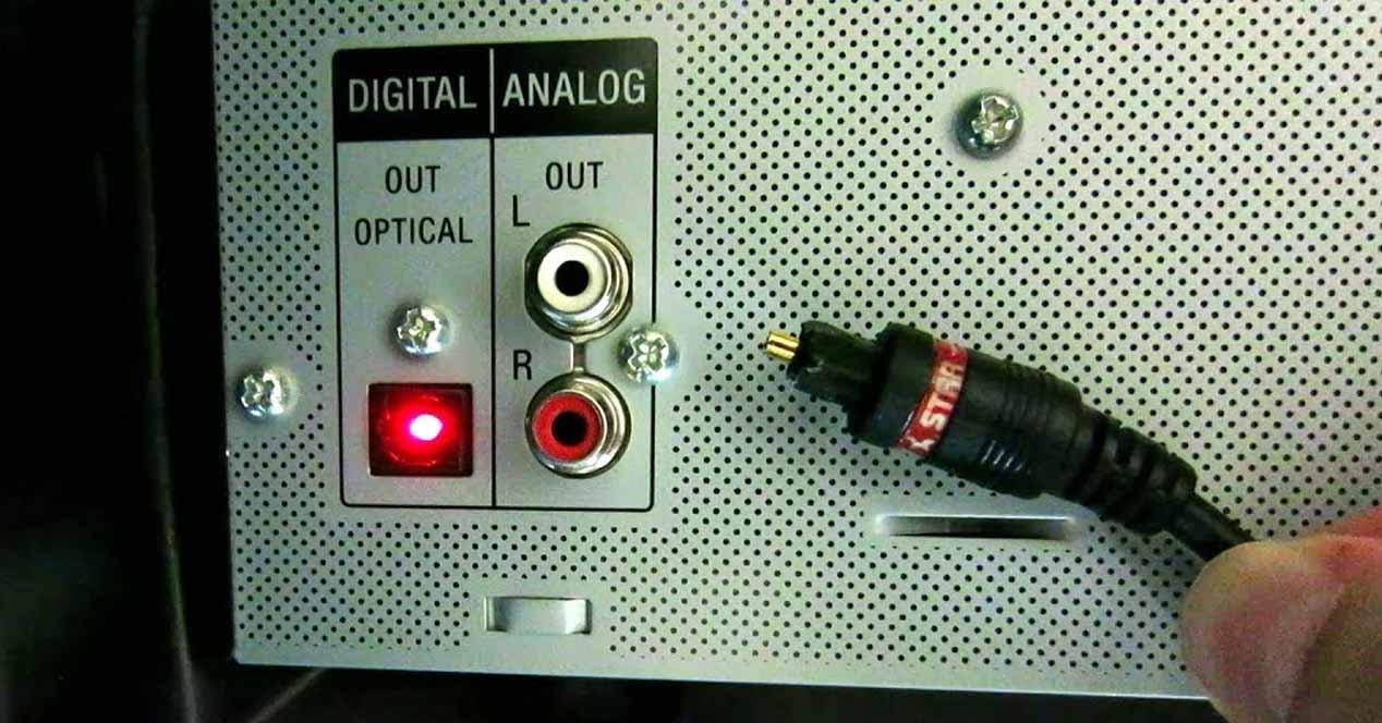 SPDIF Salida de audio óptica PC