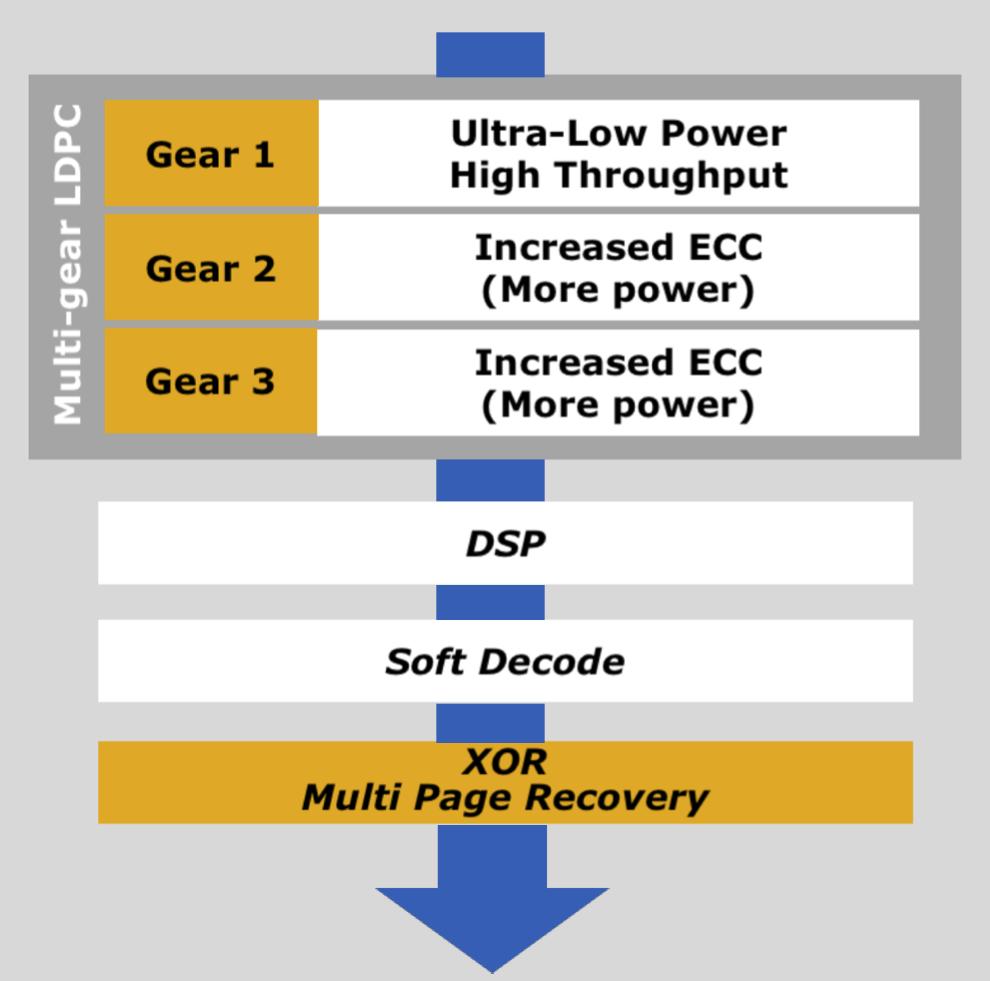 Capas ECC SSD