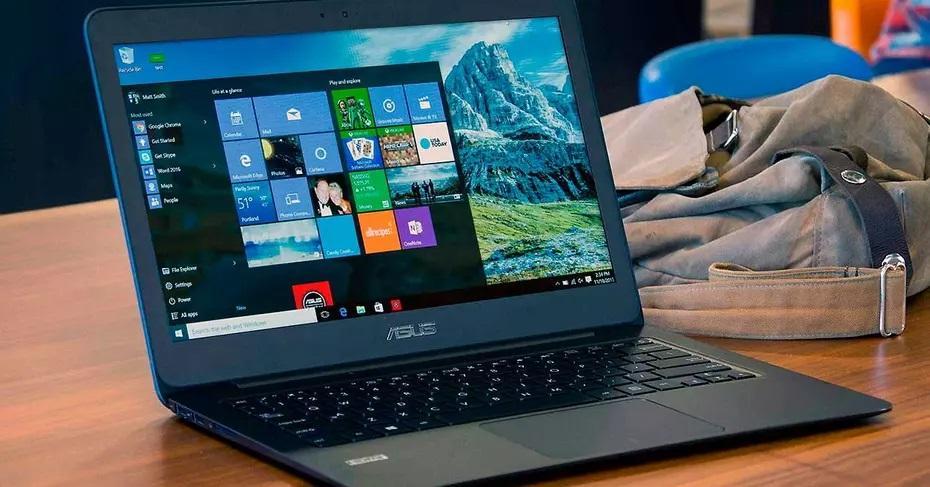 ordenador con Windows 10