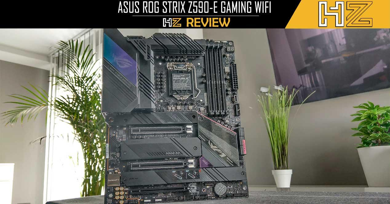 ASUS ROG STRIX Z590-E Gaming WIFI Portada