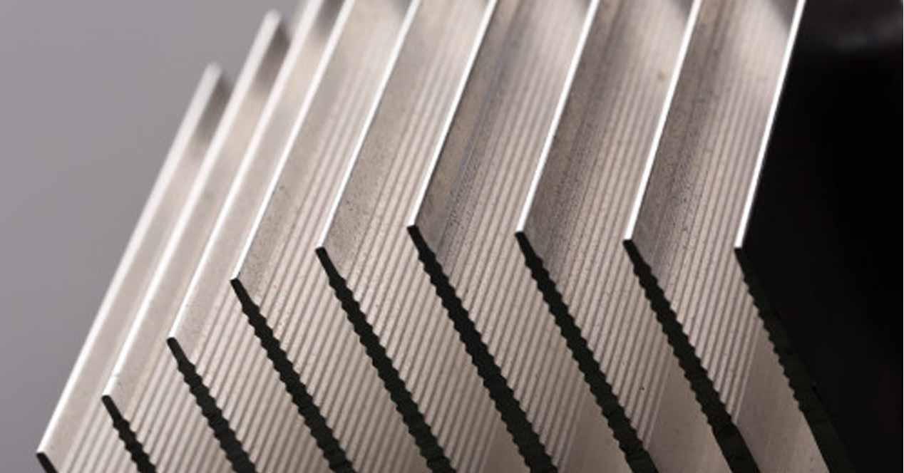 Aletas aluminio