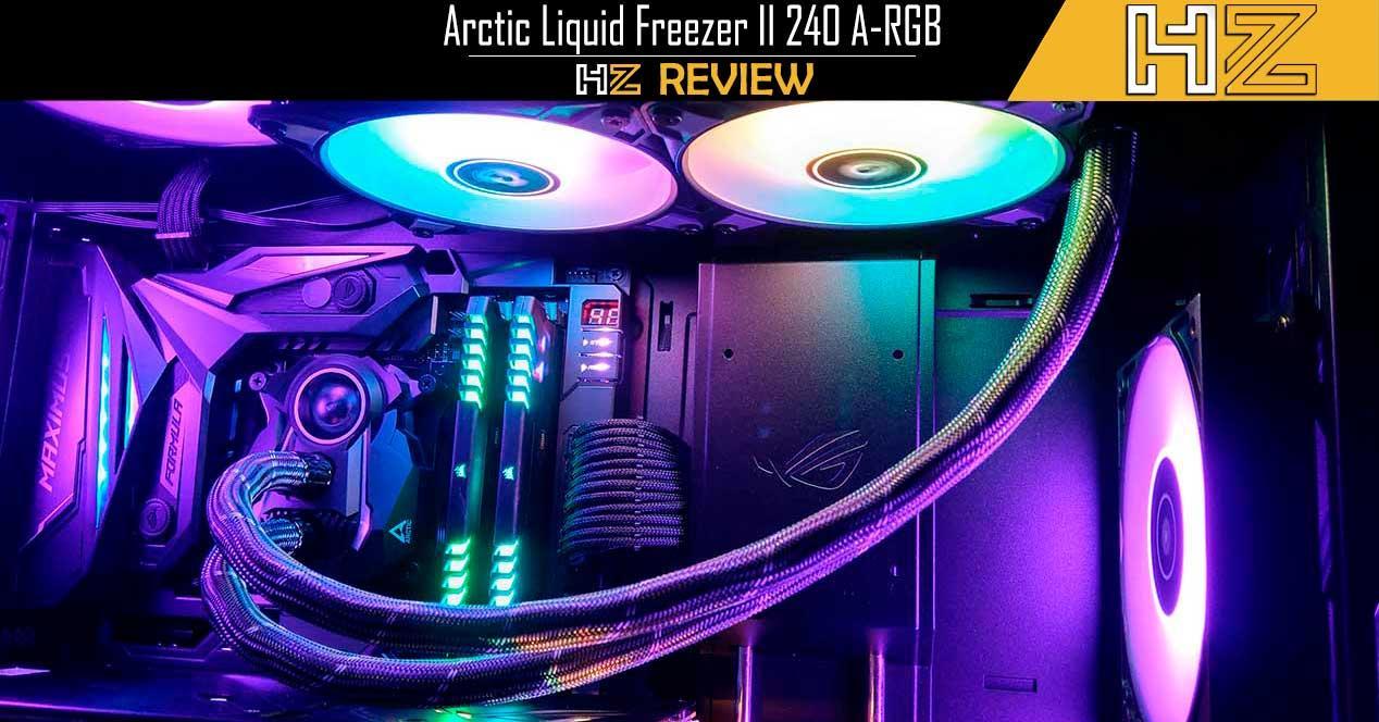 Arctic Liquid Freezer II 240 A-RGB Portada