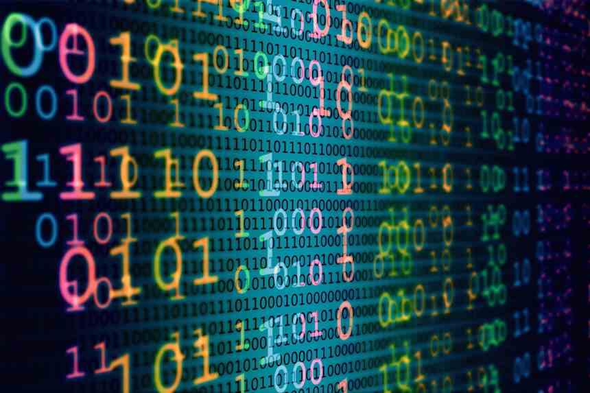 Couleur Código binario