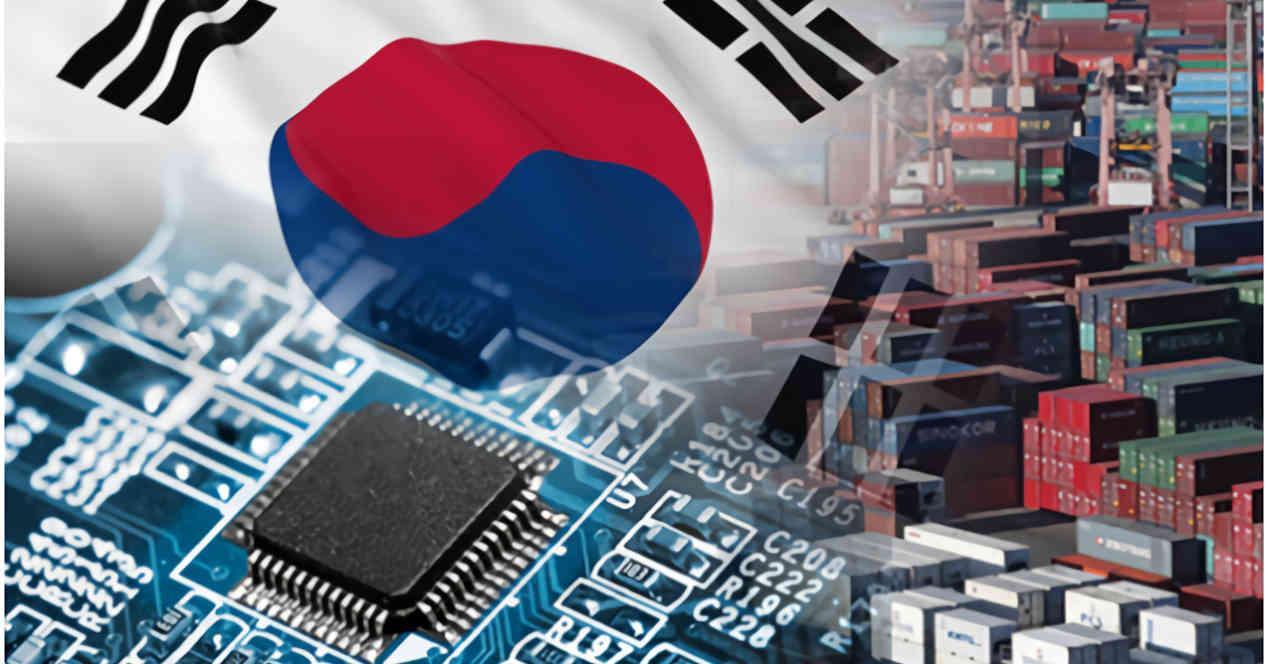 Corea del Sur semiconductores