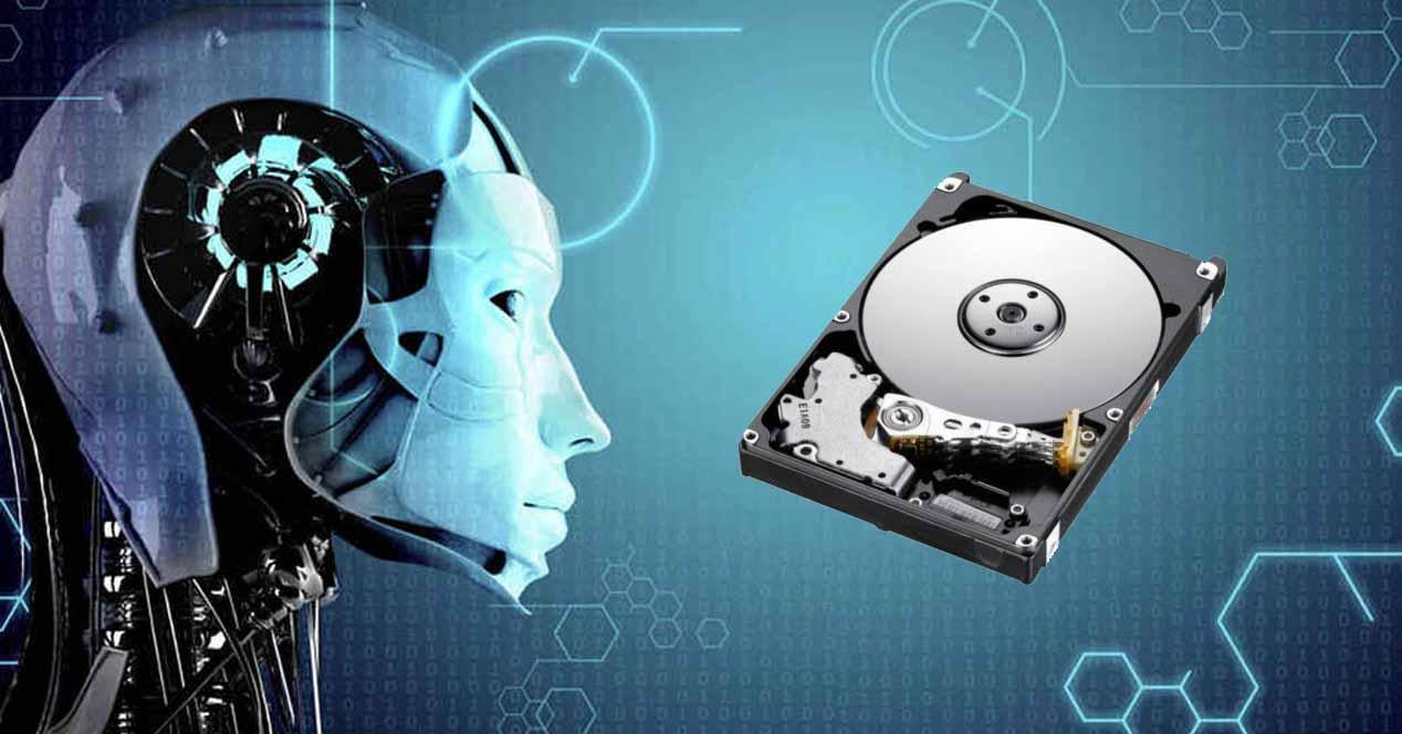 Disco duro IA