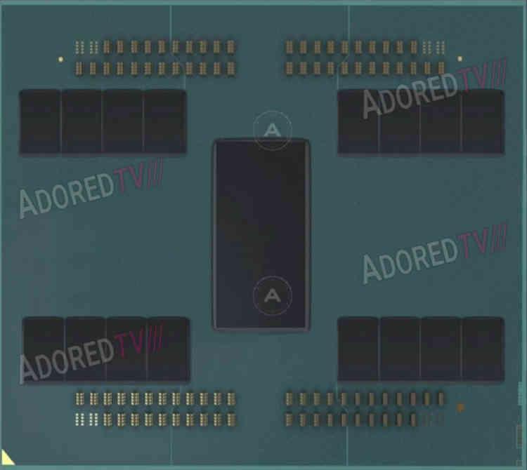 AMD Epyc Genoa Mockup 128 núcleos