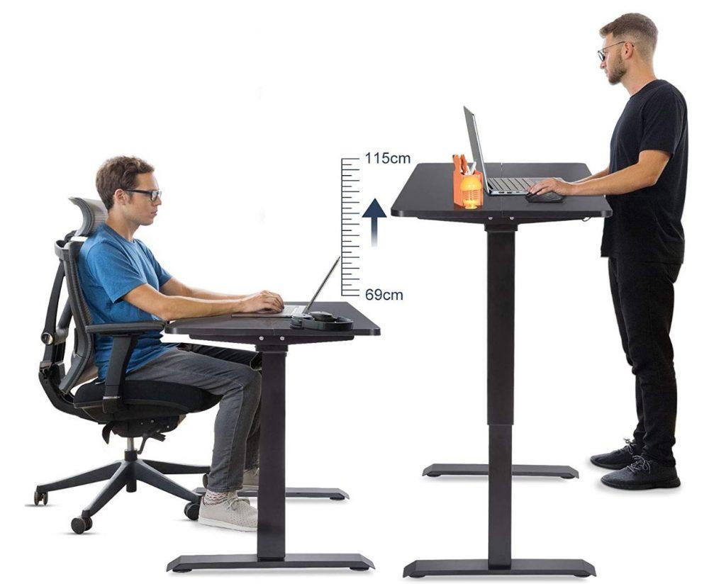 Mesa de altura ajustable