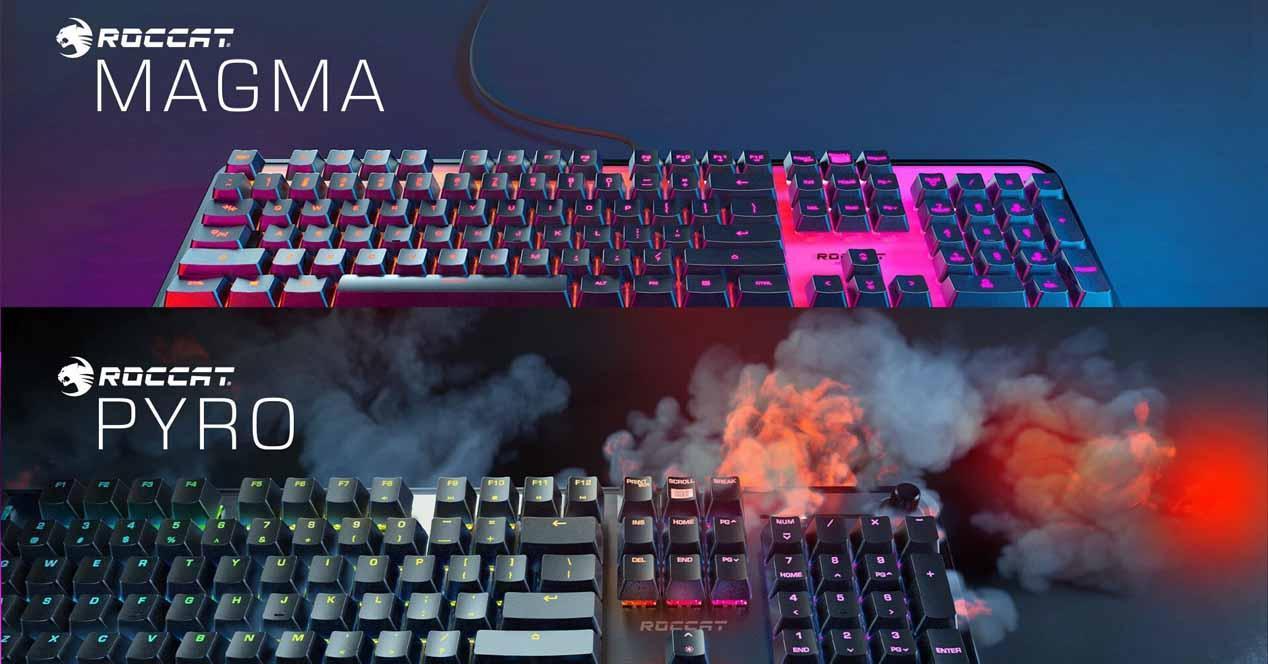 Roccat Magma y Pyro