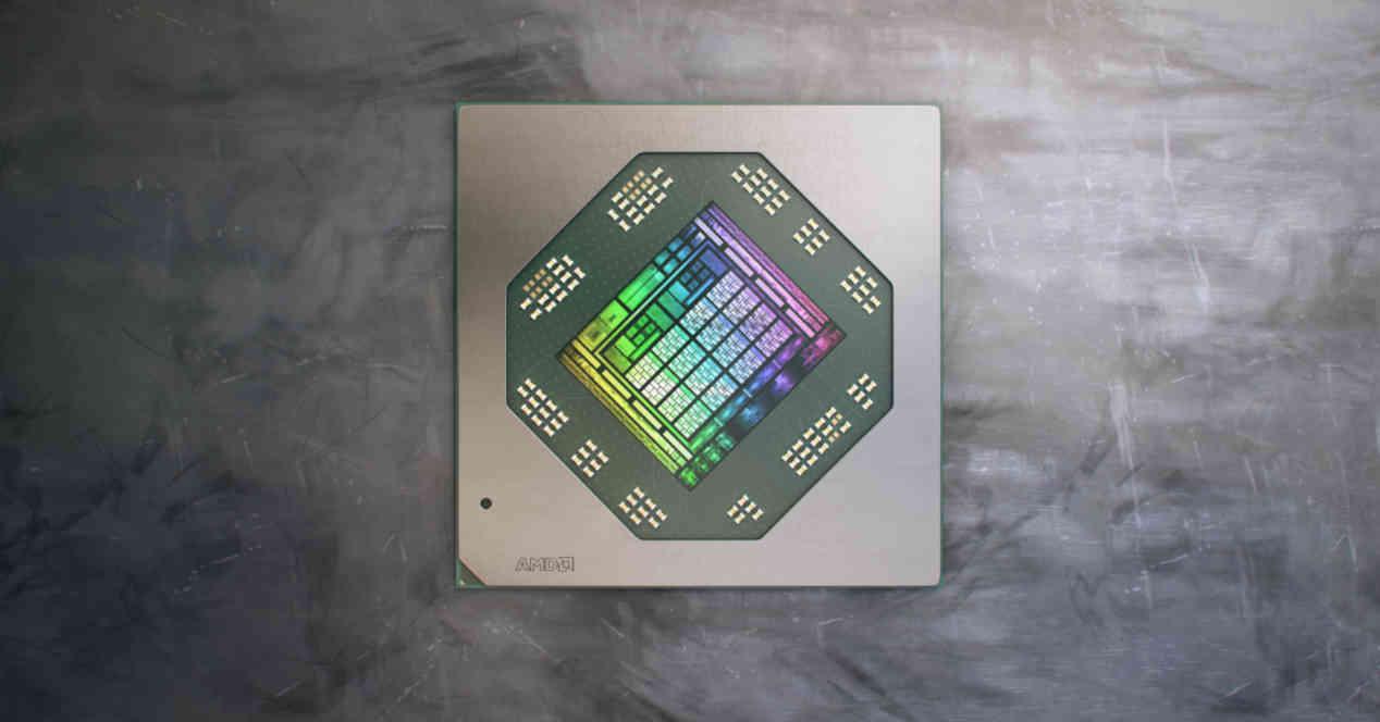 RDNA 2 GPU vista aerea