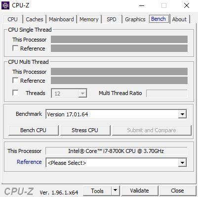 Стенд CPU-Z