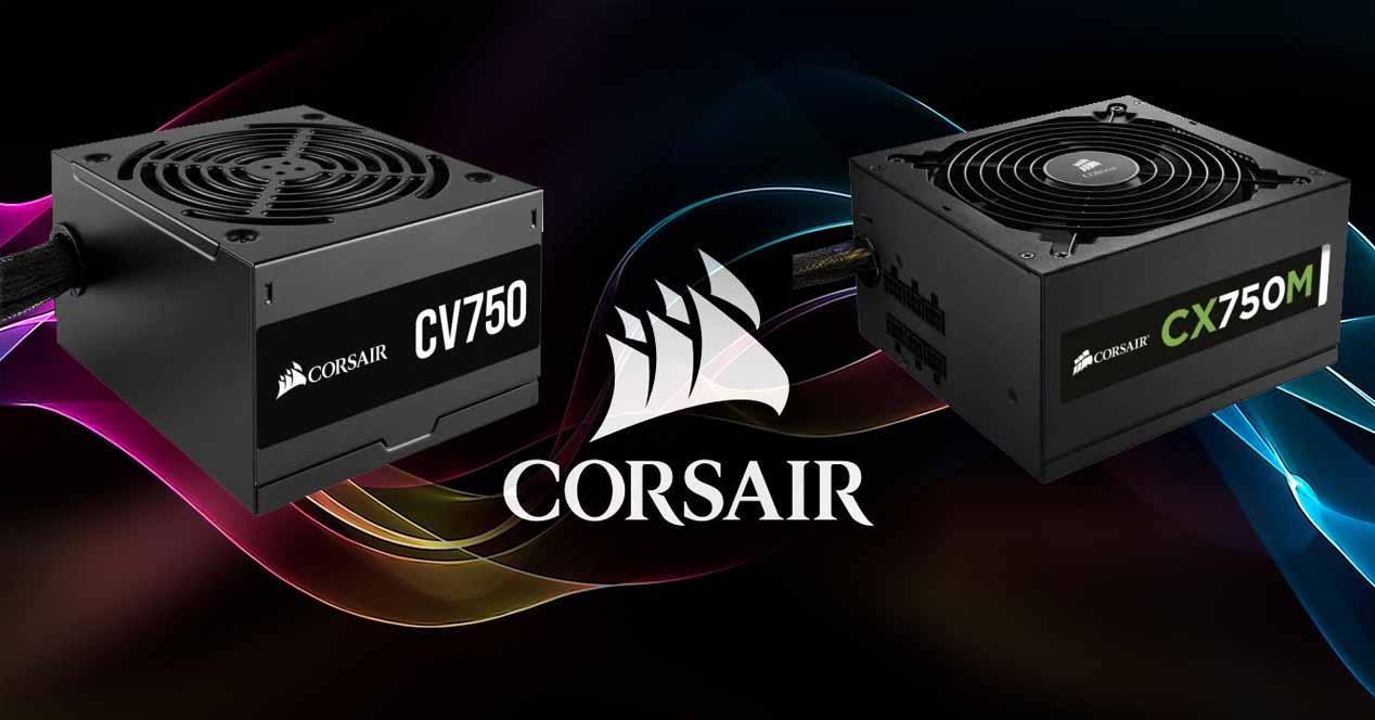 Corsair CV750 vs CX750M
