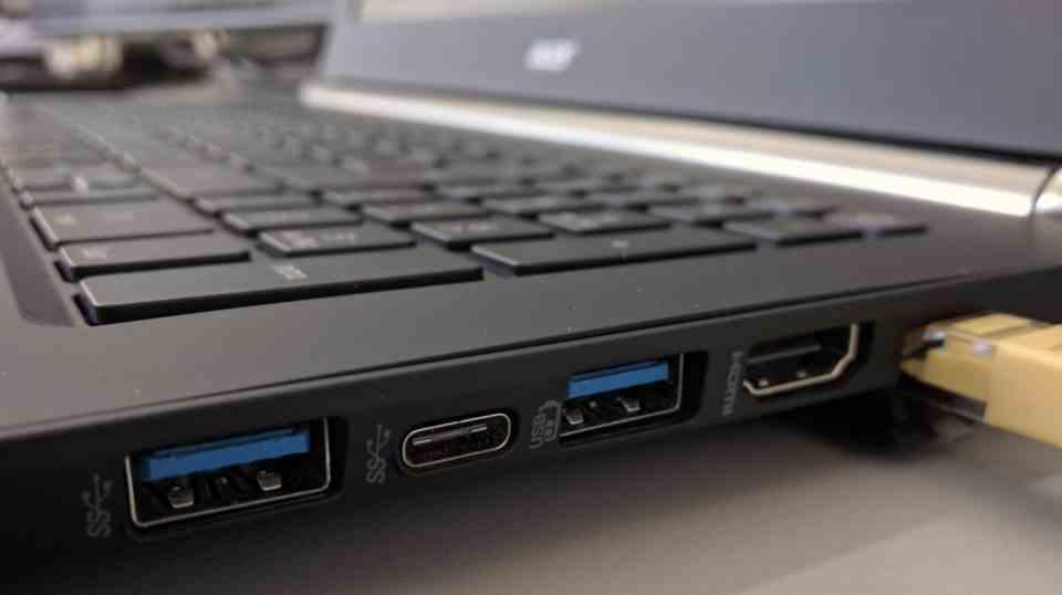 Puertos USB Portátil