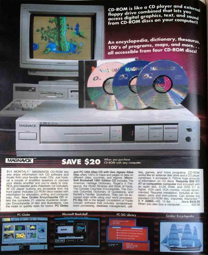 CD-ROM Anuncio Magnavox