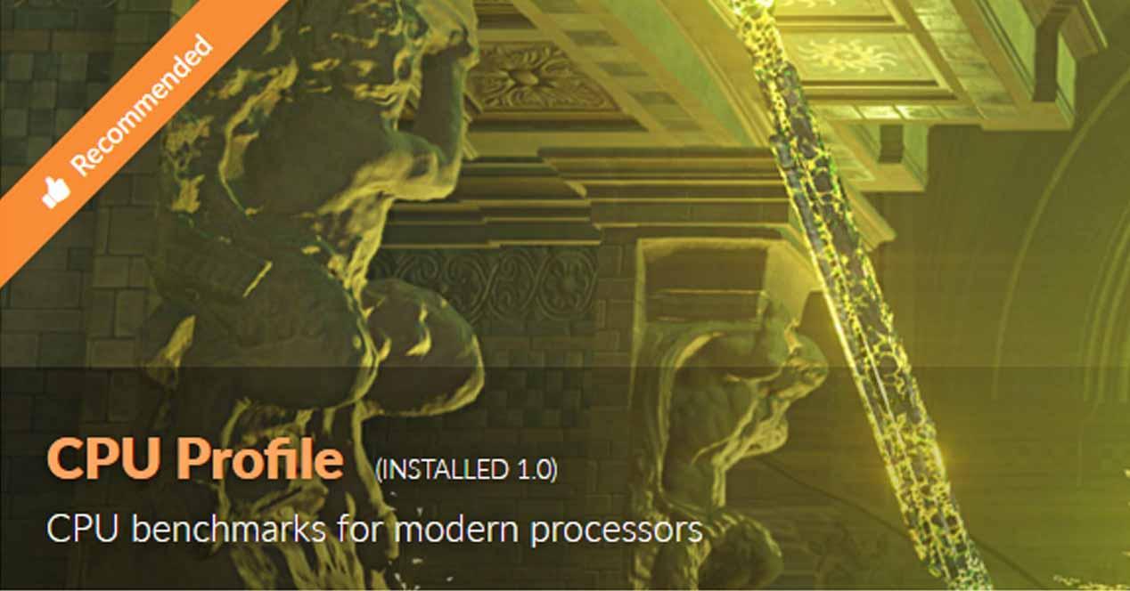 CPU Profile 3DMark