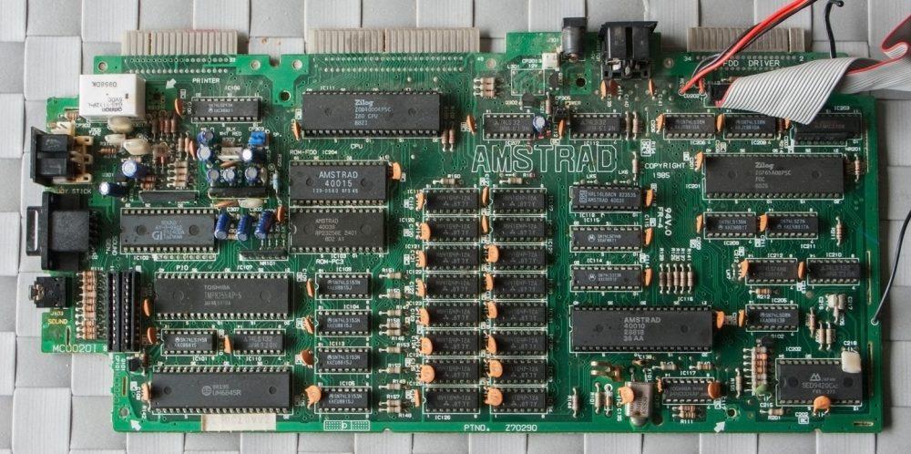 Placa Amstrad CPC 6128