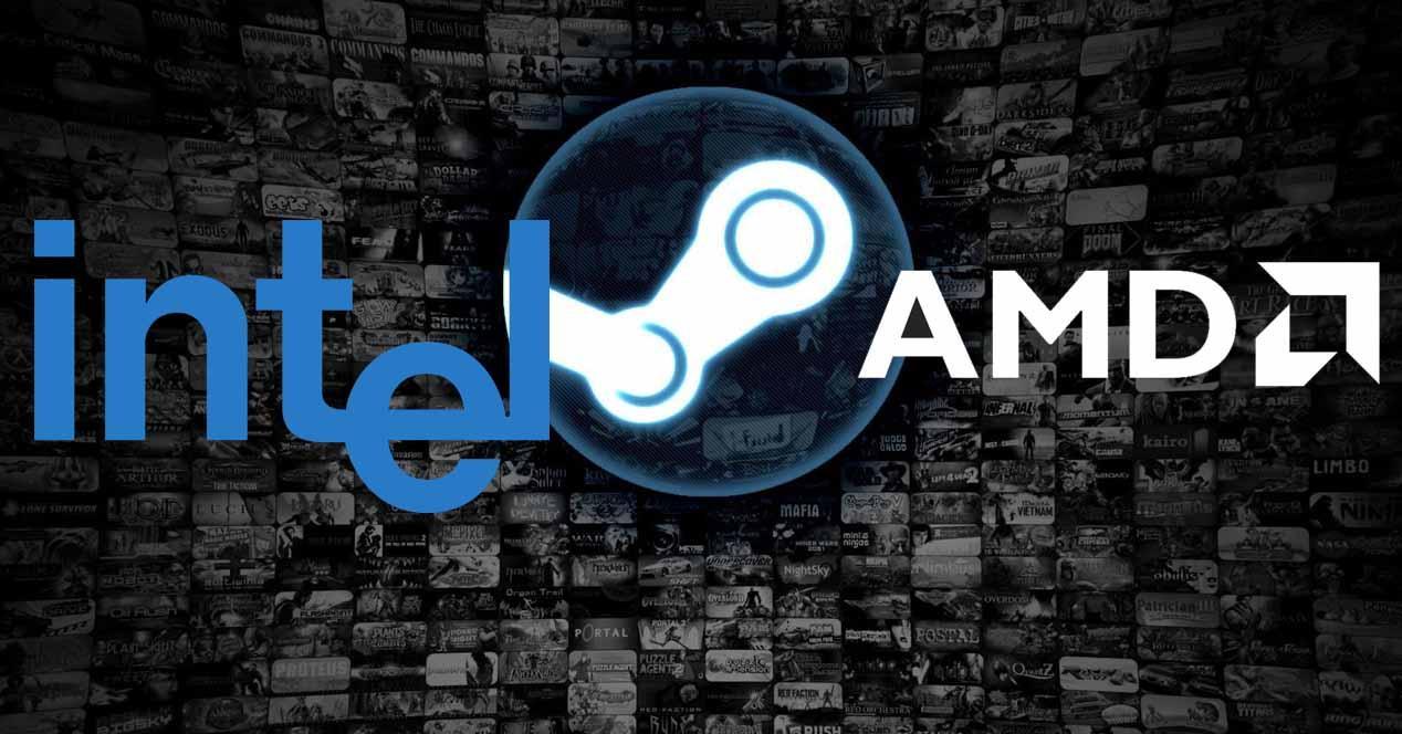 Steam Intel AMD