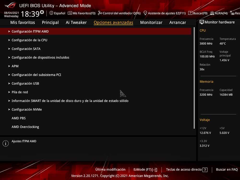 AMD fTPM BIOS UEFI Windows 11 (1)