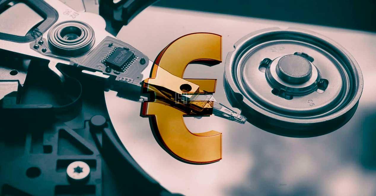 subida precio discos duros