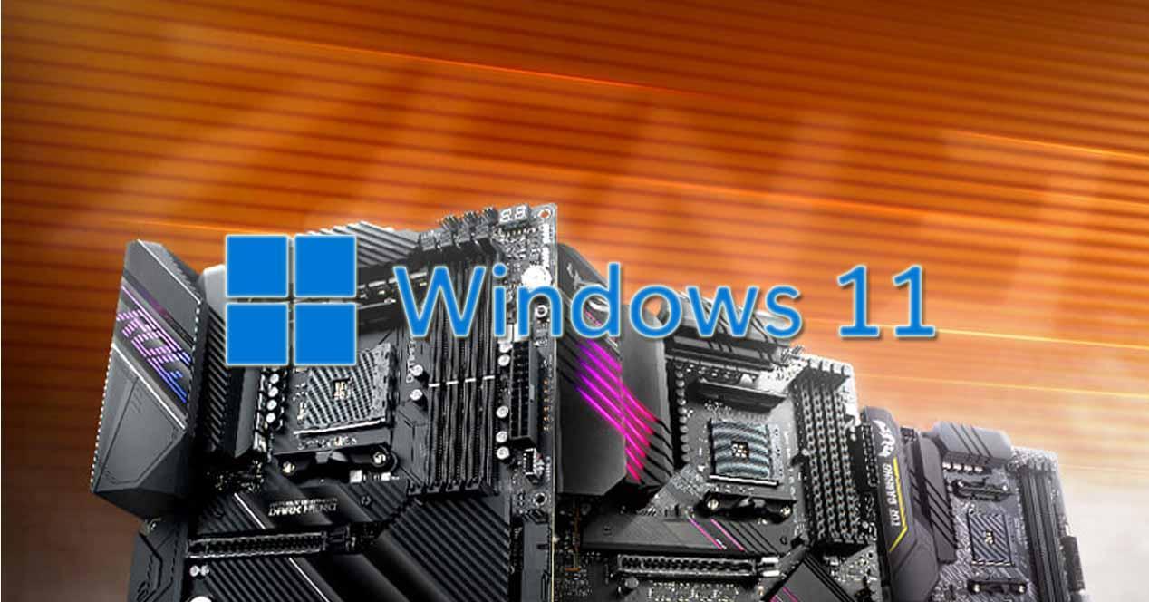 Placas base AMD Windows 11