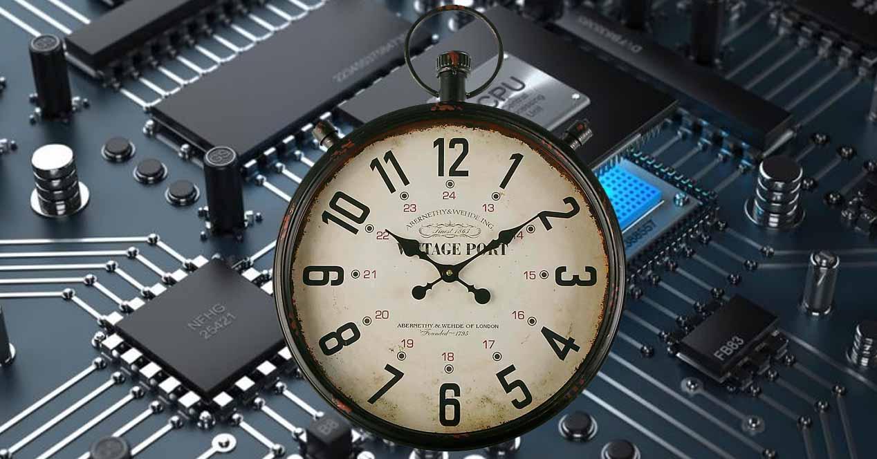 Reloj tiempo real