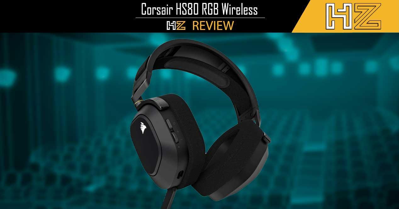 Review Corsair HS80 RGB Wireless