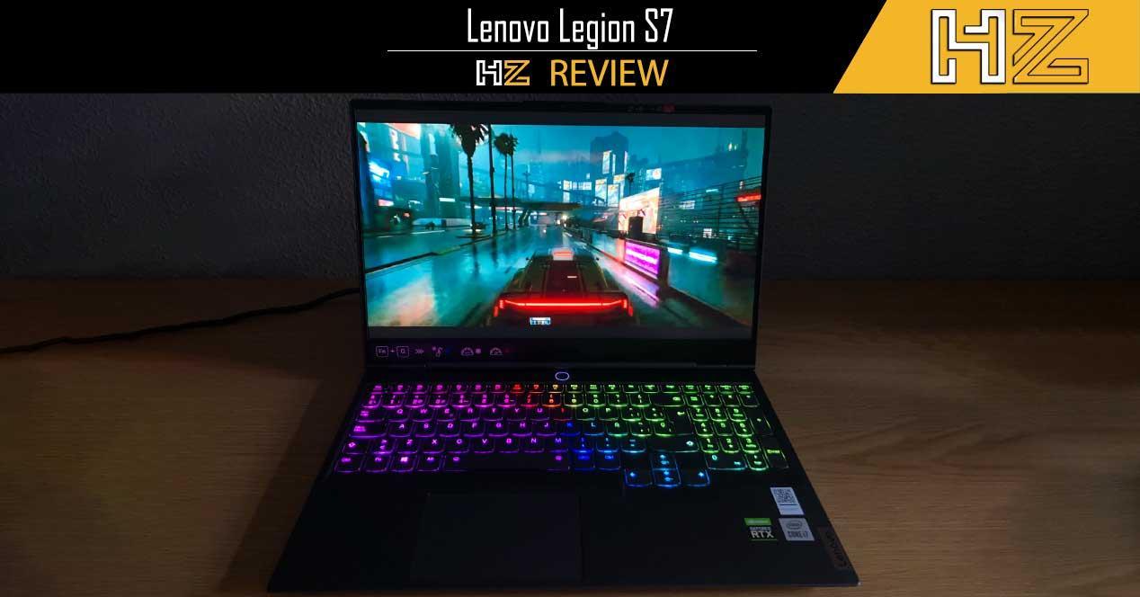 Review Lenovo Legion S7