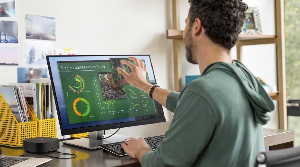 Tocar limpiar pantalla