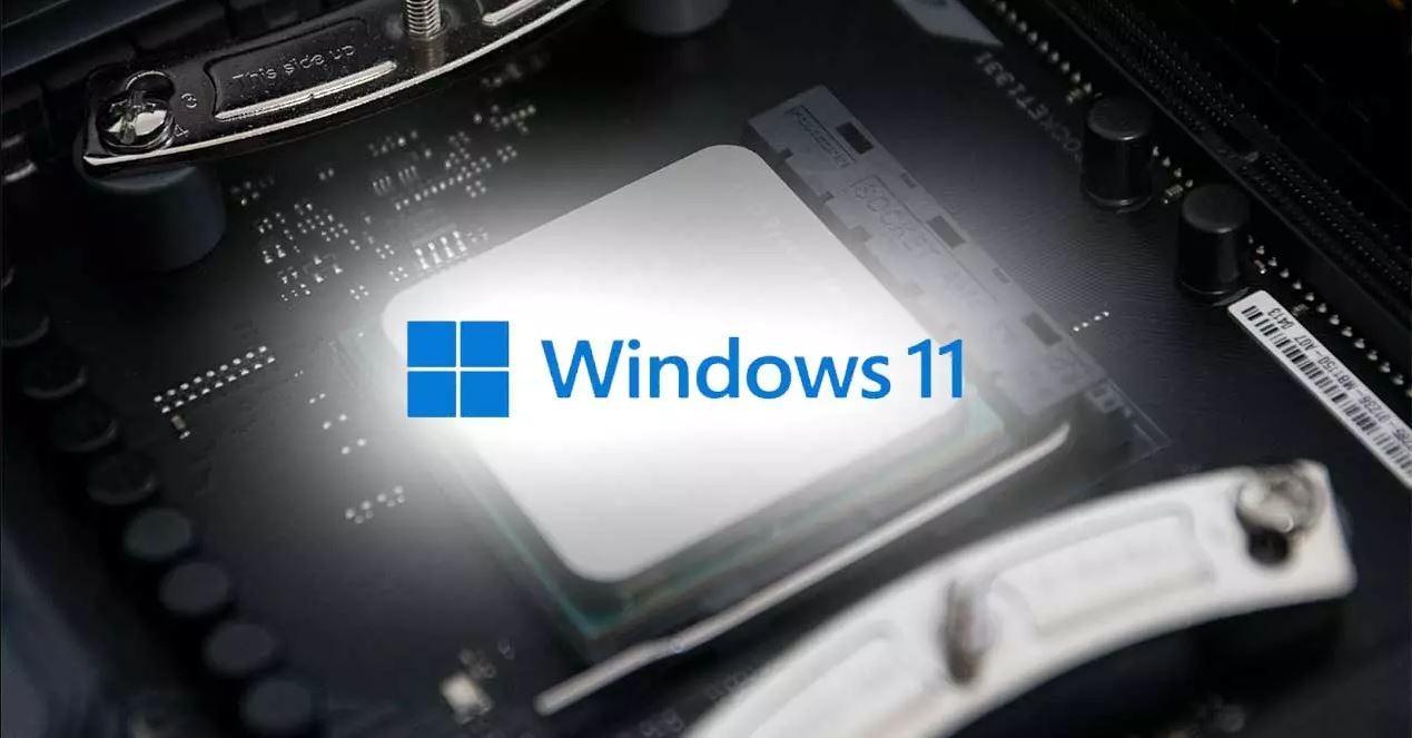 Windows 11 CPU Chipset placas base AMD