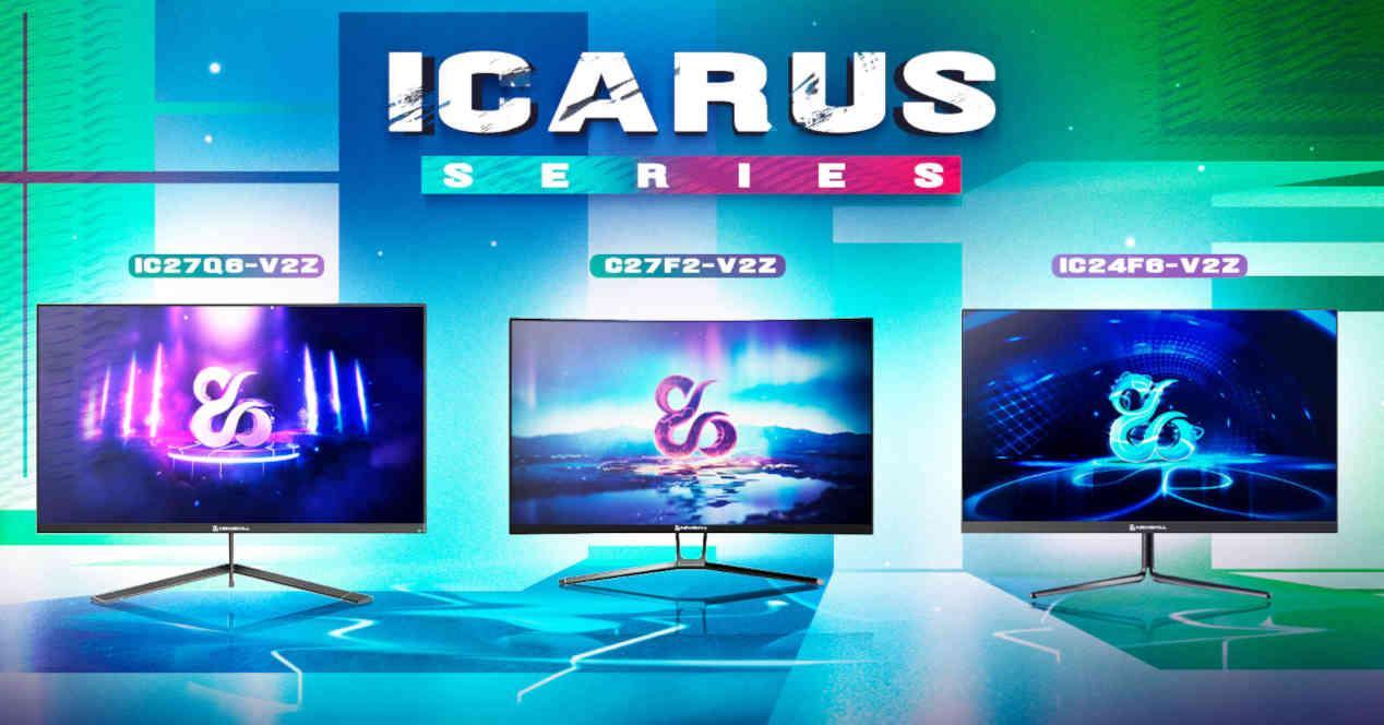 Icarus Amazon Portada