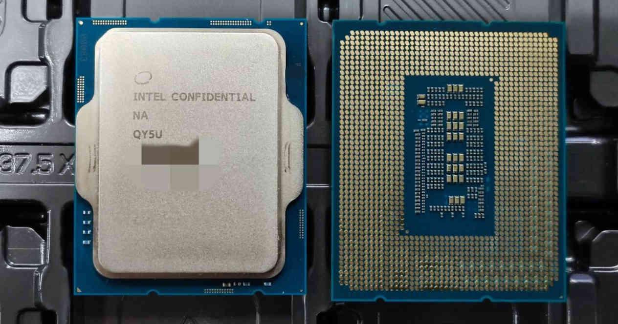 Intel Alder Lake-S Gen 12 encapsulado