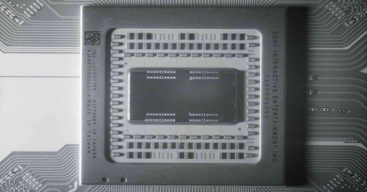 SoC PS5 Blanco Negro