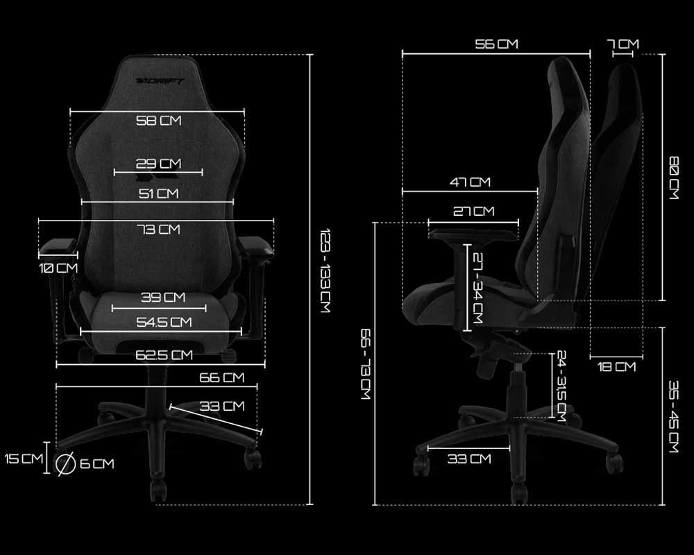 Dimensiones Drift DR275